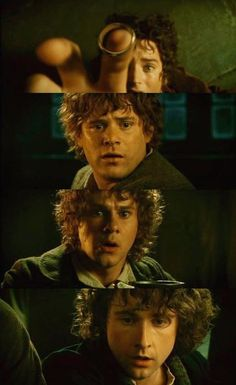 """Peter Jackson - """"The Lord of the Rings: The Fellowship of the Ring"""" (2001) Their faces....... They look horrified...."""
