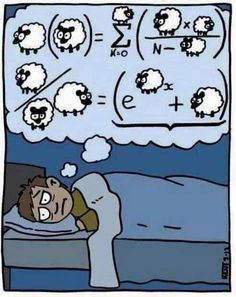 Why count sheep, when math can help you calculate :-)