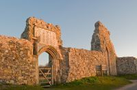 Grey Friars Abbey in Dunwich was actually located on the west side of this port town that dates to Saxon times. But storms in the 1200s and 1300s, as well as continuing erosion, has left these ruins near the eastern coast.