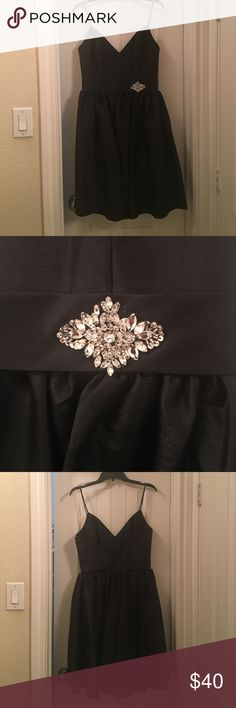 LBD! Perfect dress for prom, weddings or an formal event! The dress was worn once for a photo shoot. Recently dry cleaned and ready to ship! Make me an offer! All offers considered! Jordan Dresses Prom