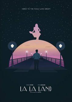 """La La Land (2016) (Damien Chazelle) """"Las personas aman lo apasionadas que son otras personas"""". Película romántica y musical estadounidense."""