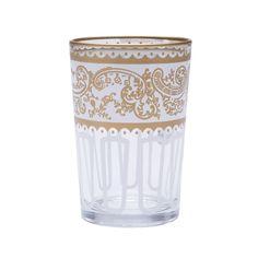 White Moroccan Tea Glasses - Set of 6 For my birthday?