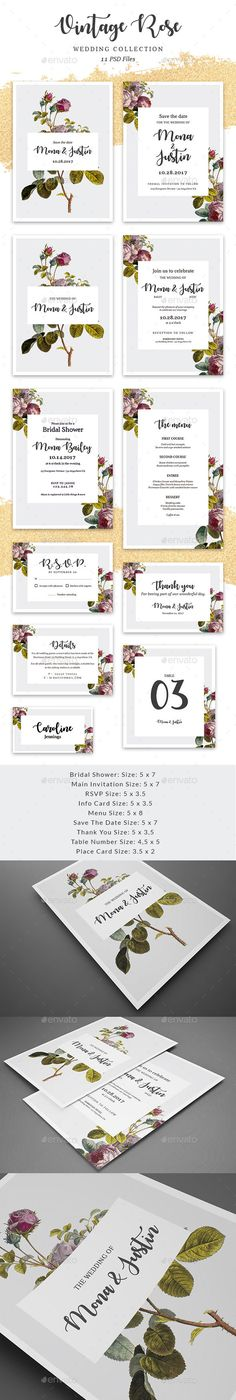 1077 Best Wedding Invitation Template Design Images Wedding