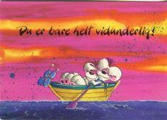Springmusen Diddl Postcard, Du er bare helt vidunderligt, 1105-264 Painting, Art, Art Background, Painting Art, Kunst, Paintings, Performing Arts, Painted Canvas, Drawings