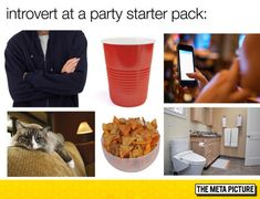 The Introvert Starter Pack