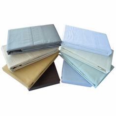 Isabelle 310TC Solid Duvet and Sheet Sets