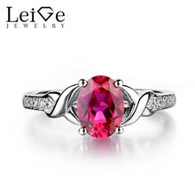 Leige Jewelry Ruby Engagement Rings for Women Sterling Silver Oval Shaped Wedding Engagement Ring July Birthstone Fine Jewelry - Affordable Jewelry Jewelry Rings, Jewelry Accessories, Fine Jewelry, July Birthstone, Birthstone Jewelry, Wedding Engagement, Engagement Rings, Cheap Rings, Affordable Jewelry
