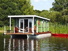 Hausboote auf der Havel in Brandenburg in Plaue: 1 Schlafzimmer, für bis zu 4 Personen. Hausboote auf der Havel in Brandenburg in Havelland - 4 Personen, 1 Schlafzimmer | FeWo-direkt