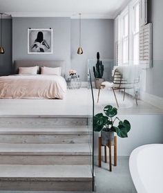5 Easy And Cheap Cool Tips: Minimalist Bedroom Design Night Stands minimalist interior architecture ceilings.Minimalist Home Kitchen Dining Rooms minimalist bedroom organization home.Minimalist Home Design Modern Architecture. Dream Rooms, Dream Bedroom, Home Bedroom, Bedroom Furniture, Bedroom Decor, Modern Bedroom, Modern Beds, Bedroom Lamps, Bedroom Lighting