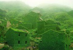 Kinesisk fiskerby