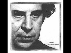 Mikis Theodorakis & Vassilis Saleas - Weeping Eyes by seluvenin Sound Of Music, My Music, 20th Century Music, Comedy Clips, November Rain, Greek Music, Losing Friends, How To Get Away, Artist Life