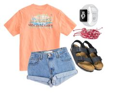 """Movies"" by evebrownn on Polyvore featuring Levi's, Birkenstock and NOVICA"