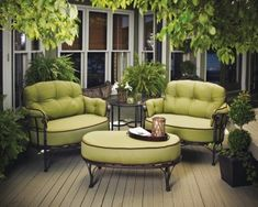 WOW! An amazing new weight loss product sponsored by Pinterest! It worked for me and I didnt even change my diet! Here is where I got it from cutsix.com - I would love this set for the patio. Looks so comfy.