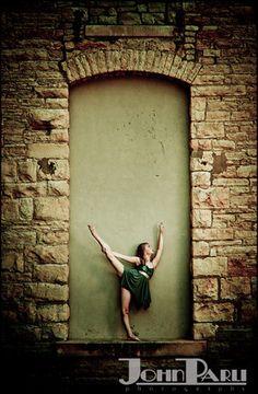 Urban Theme Girl's Dance Portraits Photo Session.   #family photos, #kids, #photography, #portraits, #children