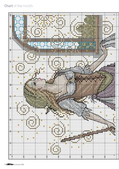 Cinderella Spectacular (Joan Elliott) From Cross Stitch Collection N°242 2014 4 of 10