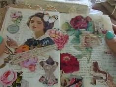 What is a Gluebook ? :) It is a kind of art- journal collage consisting of only paper and glue. You tell histories through what inspires us ... No glitter, n...