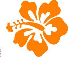 Coral Hibiscus clip art | [Design] Art & Inspiration | Pinterest ...