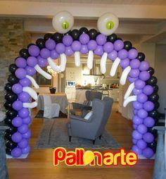 Halloween Balloons arch Palloncini arco palloncini grosseto monster