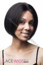 20cm Lisse Yaki #1B Glueless(sans colle) Perruques Full Lace 100% Cheveux Naturels Indien Remy