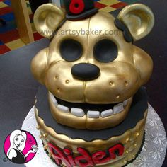 five nights at freddy's cake - Google Search