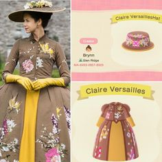 Outlander Outfit: Claire's Versailles Ensemble Animal Crossing Town Tune, Animal Crossing Memes, Animal Crossing Qr Codes Clothes, Outlander Tattoos, Outlander Quotes, Versailles, Outlander Wedding, Outlander Costumes, Motifs Animal