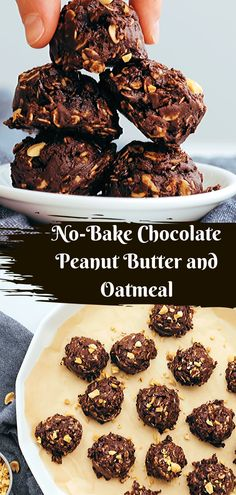 Best Homemade No Bake Cookies Recipe From the Food and Nutrition Experts. Popular Cookie Recipe, Best Cookie Recipes, Healthy Dessert Recipes, Easy Desserts, Healthy Food, Snack Recipes, Best Bread Recipe, Easy Bread Recipes, Quick Bread