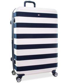 Cute Luggage, Vintage Luggage, Travel Luggage, Luggage Bags, Travel Bags, Tommy Hilfiger Luggage, Cute Suitcases, Designer Luggage, Hardside Spinner Luggage