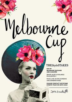 cool melbourne cup posters - Google Search