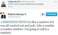tweets Patrick Stump kill me paxamdays •