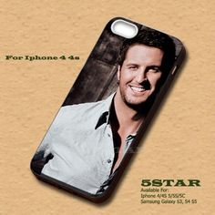 singer Luke Bryan Handsome boy Hard Cover  for iPhone 4 4s | 5STAR - Accessories on ArtFire