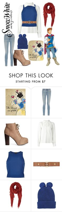 """Untitled #183"" by keyla-de-lynch ❤ liked on Polyvore featuring Disney, Alexander Wang, H&M, See by Chloé, River Island, Marni, Barneys New York and George J. Love"