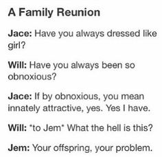 Jace & Will Herondale The Mortal Instruments & The Infernal Devices