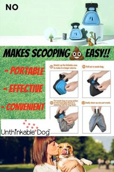 No More Squishy Feeling! Dog Shop, Dog Bag, Dog Supplies, Travel Size Products, Your Dog, Pup, Dogs, Dog Items, Dog Baby