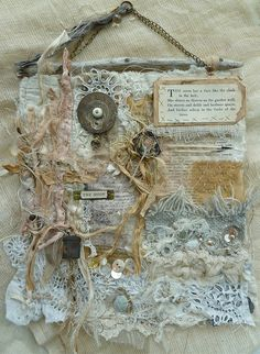 mixed media fabric and more...