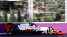 Esteban Gutierrez, Haas, Baku City Circuit, 2016