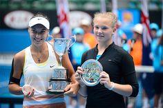 Ana Konjuh and Katerina Siniakova Australian Open