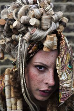 all the corks in this shot are from bottles of wine I've drank.. Mrs Jones designed the headpiece. - #bottles #corks #designed #drank #Headpiece #Ive #Jones #shot #wine