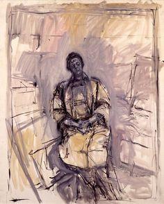 Alberto Giacometti. Portrait de Marguerite Maeght, 1961. Alberto Giacometti, Giacometti Paintings, Figure Painting, Painting & Drawing, Modern Art, Contemporary Art, Italian Paintings, Statues, Art Sculpture