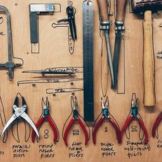 TOOLS - this workshop's about to get serious!