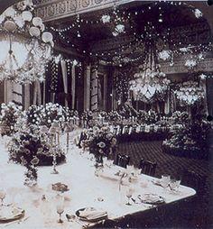 East Room White House Christmas 1870's