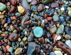 Cambria's moonstone beach