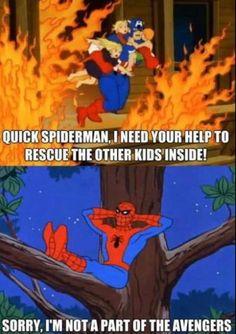 Quick Spiderman.