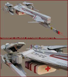 NODENS class fast attack frigate : humanitarian configuration