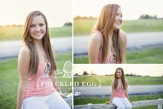 Country senior photo {Allison Brockman Freckled Egg Photography}