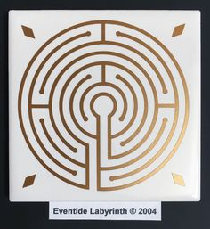 "The first of our Eventide series of designs, ""eventide"" is an older term for evening/dusk/twilight.  Choice of 4.25"" or 6"" tile.  © 2004"