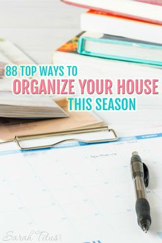 Readers, bloggers, and myself all got together to share our very best 88 top ways to organize your house this season. Check it out and leave a comment. Tell me what is YOUR top way to organize your house this season!!!