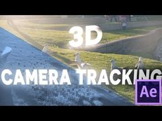 After Effects Basic Tutorial - 3D CAMERA TRACKING - YouTube