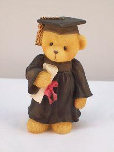 Avon Exclusive Cherished Teddies Figurine Graduation Bear | eBay