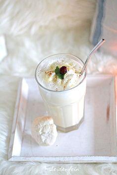 16. Schneewittchenpunsch oder Eierlikör geht immer ! ❄ ☕ ❄ Snowhite punch or : egg-liqueur always goes ( recipe )