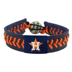 Image for GameWear Adults' Houston Astros Baseball Bracelet from Academy